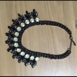 Zara black Statement necklace LIKE NEW
